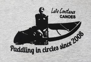 Lake Constance Canoes Vintage T-Shirt
