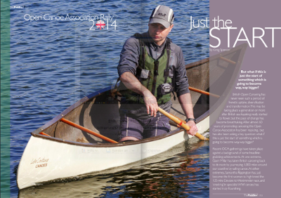 The Paddler ezine - Canoeing UK